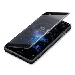 Pouzdro Sony SCTH40 Style Cover pro Sony Xperia XZ2 černé