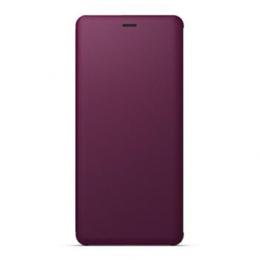 Pouzdro Sony SCSH70 Stand Style cover pro Sony Xperia XZ3 červené
