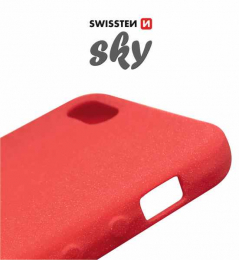 Pouzdro Swissten Sky pro Apple iPhone 5/5S/SE červené