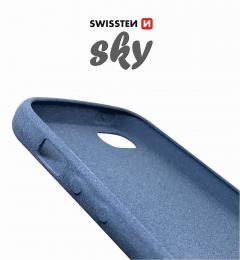 Pouzdro Swissten Sky pro Apple iPhone 5/5S/SE modré