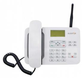 Aligator T100 - stolní GSM mobil bílý