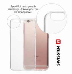 Pouzdro Swissten Clear Jelly pro Samsung A600F Galaxy A6 2018 čiré