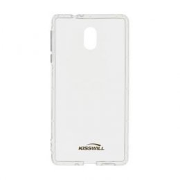 Pouzdro Kisswill Air Around TPU pro Nokia 7 Plus čiré