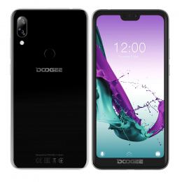 Doogee Y7 3/32GB Dual SIM Obsidian Black