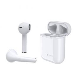 Bluetooth sluchátka Devia TWS Bluetooth 5.0 V6 bílá