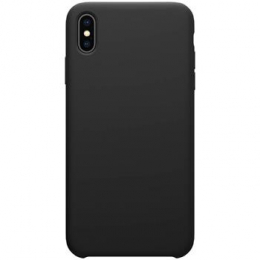 Pouzdro Nillkin Flex Pure Liquid Silikonové pro Apple iPhone XS černé