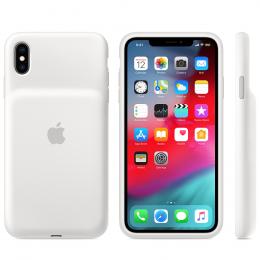 Pouzdro Apple iPhone XS MAX Smart Battery Case - MRXR2ZM/A bílé