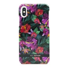 Pouzdro SoSeven (SSBKC0018) Hawai Case Tropical pro Apple iPhone X/XS černé