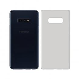 Ochranný kryt 3mk Natural Case pro Samsung G970 Galaxy S10e poloprůhledný - bílý