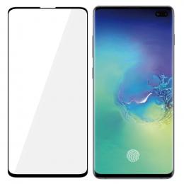 Tvrzené sklo 3mk HardGlass MAX pro Samsung G975F Galaxy S10 Plus černé