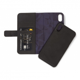 Pouzdro Decoded (D8IPO61DW1BK) Leather 2v1 Wallet pro Apple iPhone Xr černé