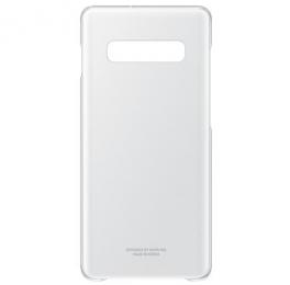 Pouzdro Samsung EF-QG975CT pro Samsung G975 Galaxy S10 Plus čiré