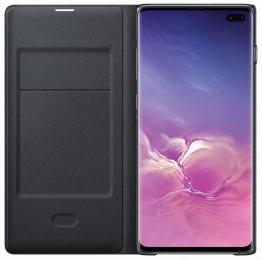 Pouzdro Samsung EF-NG975PB pro Samsung G975 Galaxy S10 Plus černé