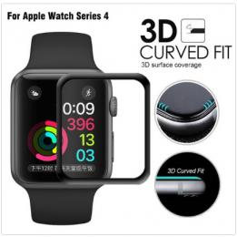Tvrzené sklo 3D pro Apple Watch Series 4 40 mm černé