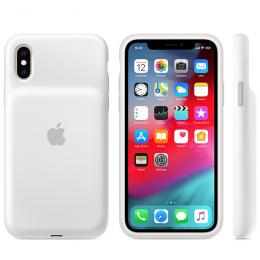 Pouzdro Apple iPhone XS Smart Battery Case - MRXL2ZM/A bílé