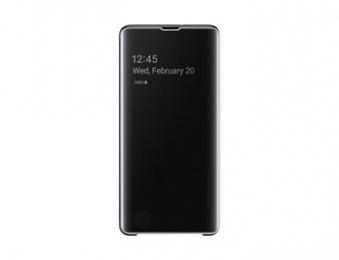 Pouzdro Samsung EF-ZG975CB Clear View pro Samsung G975 Galaxy S10 Plus černé