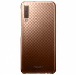 Pouzdro Samsung EF-AA750CFE Gradation Case pro Samsung A750F Galaxy A7 2018 zlaté
