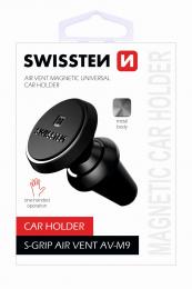 Držák do auta Swissten S-GRIP AV-M9 černý