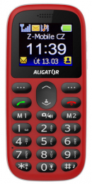 Aligator A510 Senior Red