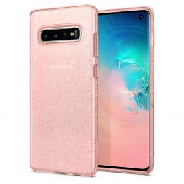 Pouzdro Spigen (605CS25798) Liquid Crystal pro Samsung G973F Galaxy S10 Glitter Rose