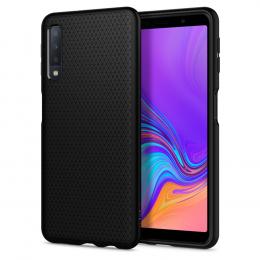 Pouzdro Spigen (608CS25555) Liquid Air pro Samsung A750F Galaxy A7 2018 Black