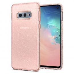 Pouzdro Spigen (609CS25835) Liquid Crystal pro Samsung G970F Galaxy S10e Glitter Rose