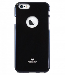 Pouzdro Mercury Jelly Case pro Apple iPhone 6/6S Plus černé