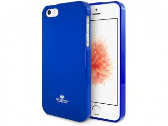 Pouzdro Mercury Jelly Case pro Apple iPhone 5/5S/SE modré