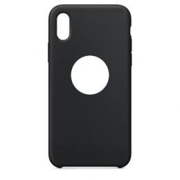 Pouzdro Swissten Liquid (s výřezem na logo) pro Apple iPhone X černé