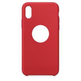 Pouzdro Swissten Liquid (s výřezem na logo) pro Apple iPhone 7/8 červené
