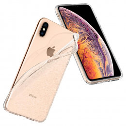 Pouzdro Spigen (065CS25123) Liquid Crystal pro Apple iPhone XS MAX Glitter Crystal