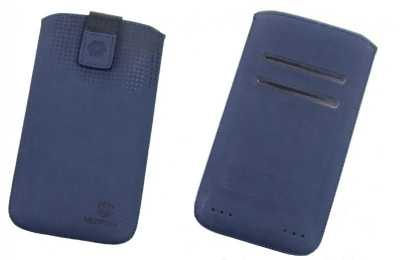 Pouzdro RedPoint Velvet Pocket 4XL tmavě modré