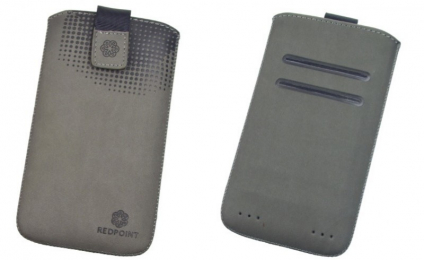 Pouzdro RedPoint Velvet Pocket 4XL šedé