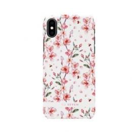 Pouzdro SoSeven (SSBKC0001) Tokyo Cherry Blossom Flowers pro Apple iPhone X/Xs bílé