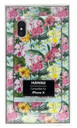 Pouzdro SoSeven (SSBKC0019) Hawai Case Tropical pro Apple iPhone X/XS Flamingo