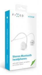 Bluetooth sluchátka FIXED Voyage (FIXBM-VOY-WH) bílá