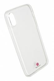 Pouzdro RedPoint Silicon Exclusive pro Apple iPhone X/Xs čiré