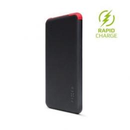 Powerbanka FIXED Zen SLIM 5.000 mAh s microUSB kabelem a adaptéry černá