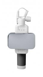 Selfie tyč CellularLine Total View s otočným zrcátkem černá