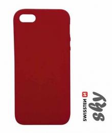 Pouzdro Swissten Sky pro Apple iPhone 7 červené