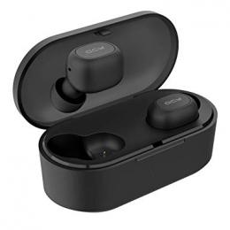 Bezdrátová sluchátka QCY T2C/T1S Bluetooth 5.0 černá