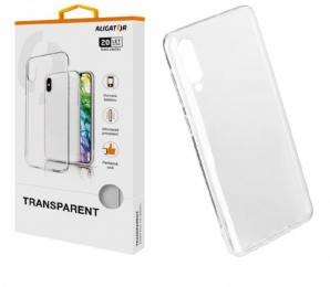 Pouzdro Aligator Transparent pro Samsung A405F Galaxy A40