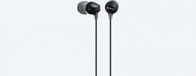 Sluchátka Sony (MDR-EX1515AP/BC) černá