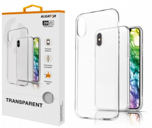 Pouzdro Aligator Transparent pro Huawei P Smart Z