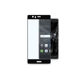 Celly Tvrzené sklo Capsule pro Huawei P9 černé
