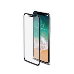 Celly Tvrzené sklo 3D pro Apple iPhone X/XS černé