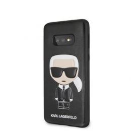 Pouzdro Karl Lagerfeld (KLHCS10LIKPUBK) Ikonik Full Body TPU pro Samsung G970F Galaxy S10e černé