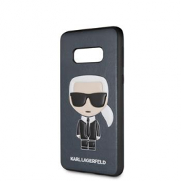 Pouzdro Karl Lagerfeld (KLHCS10LIKPUBL) Ikonik Full Body TPU pro Samsung G970F Galaxy S10e modré