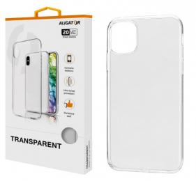 Pouzdro Aligator Transparent pro Apple iPhone 11 Pro Max