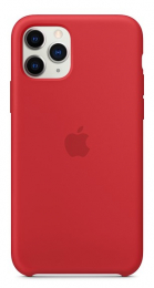 Pouzdro Apple (MWYH2ZM/A) Silicone Case pro Apple iPhone 11 Pro Product RED